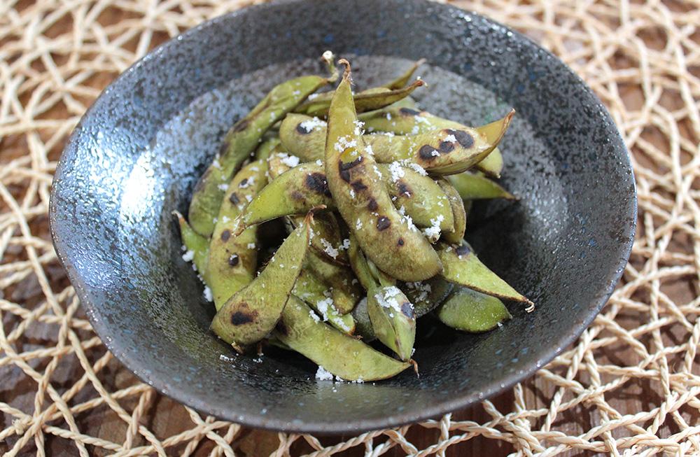 焼き黒枝豆